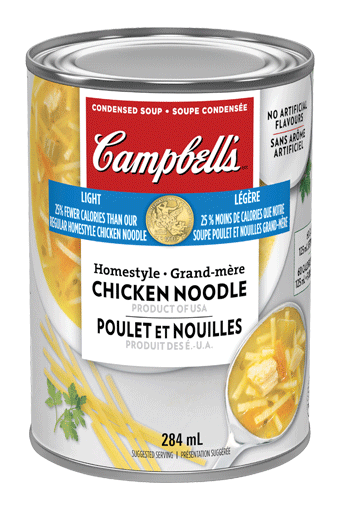 Campbell's Condensed Light Homestyle Chicken Noodle