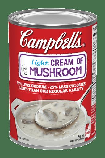 Campbell's Light Cream of Mushroom