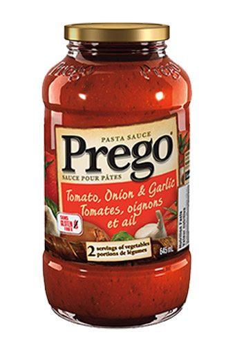 Prego Pasta Sauce Tomato, Onion & Garlic
