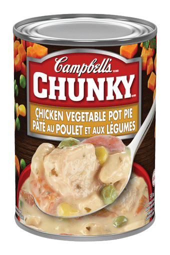 Campbell's Chunky Chicken Vegetable Pot Pie