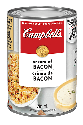 campbell's cream of bacon