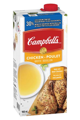 Campbell's 30% Less Sodium Chicken Broth