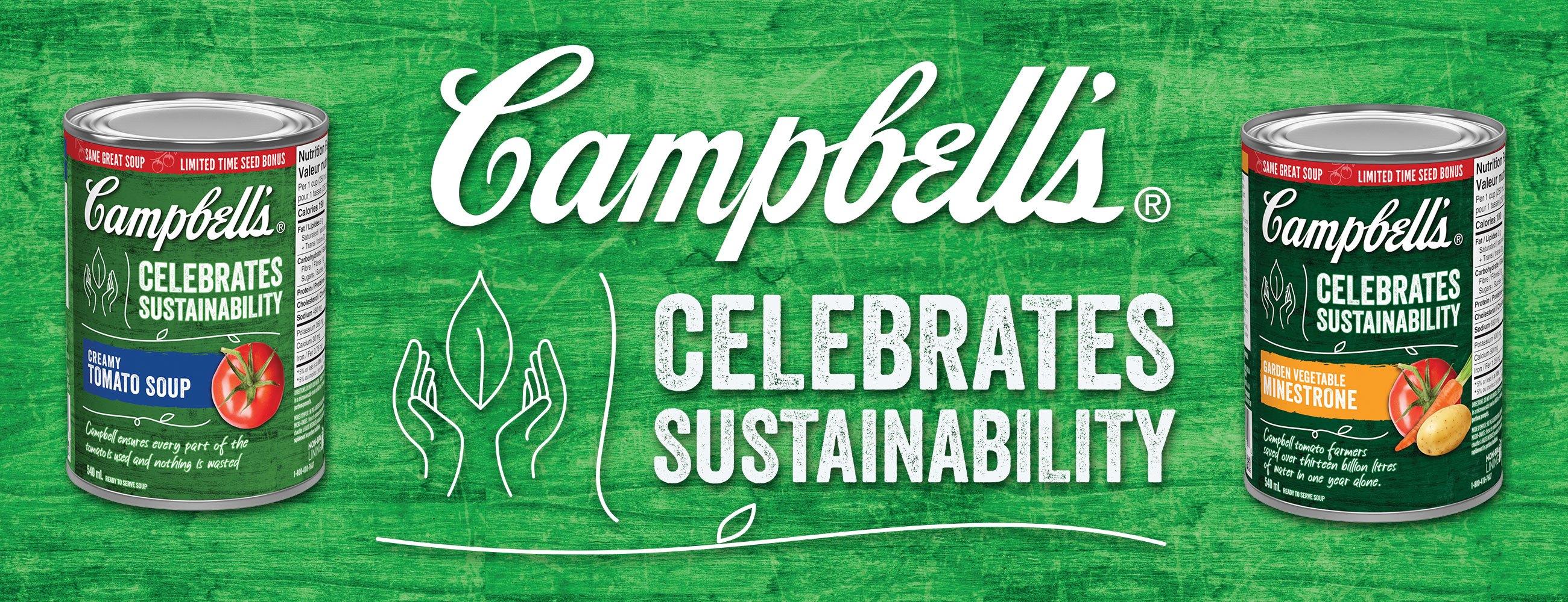 Campbell's Celebrates Sustainability